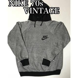 ナイキ(NIKE)のNIKE ナイキ 70s スウェット パーカー ビンテージ VINTAGE (パーカー)