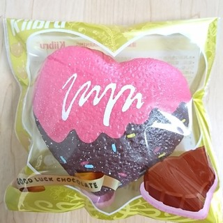【kiibru】ハートチョコレート スクイーズ