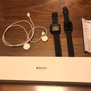 アップルウォッチ(Apple Watch)のApple Watch 3  42mm セルラー(その他)
