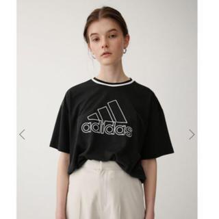 moussy - moussy×adidas 第三弾コラボ Tシャツ