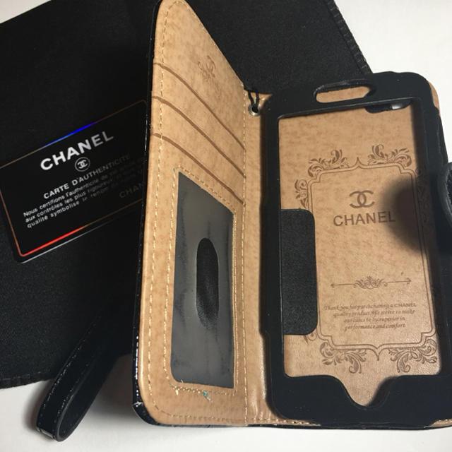 iphonex 全面 ケース 、 シャネル CHANEL iPhone ケース カバー 手帳型の通販 by にな's shop|ラクマ