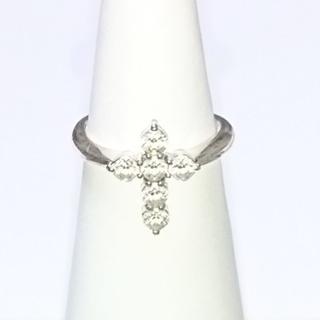 クロスフォー(Crossfor)のラブクロスリング silver925 9号 NFR-9  クロスフォー(リング(指輪))
