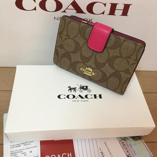COACH - コーチ 財布 COACH 箱付き 新品