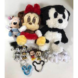 Disney - 《MICKEY&MINNIE》ぬいぐるみセット
