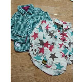 エフオーキッズ(F.O.KIDS)のシャツ2枚セット サイズ100 ジャンクストア エフオーキッズ(Tシャツ/カットソー)