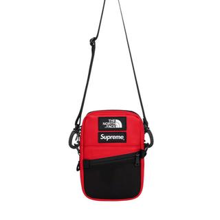 Supreme - Supreme The North Face Shoulder Bag  red