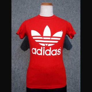 adidas - アディダス 赤Tシャツ