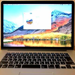 Mac (Apple) - MacBook Pro 15インチ 16GB 1TB SSD 2015 美品
