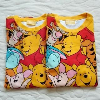 ディズニー(Disney)のディズニーリゾート くまのプーさんTシャツS  2枚セット(Tシャツ/カットソー(半袖/袖なし))