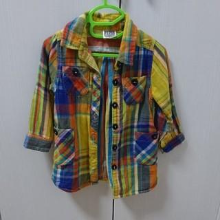 エフオーキッズ(F.O.KIDS)のF.O.KIDS チェックシャツ 90(ジャケット/上着)