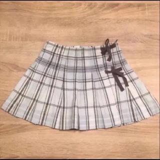 ボンポワン(Bonpoint)のボンポワン サイズ6  ★ チェックの巻きスカート(スカート)