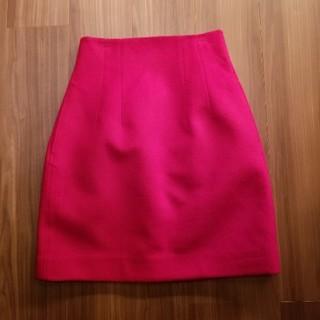 ルシェルブルー(LE CIEL BLEU)のルシェルブルー ボルドー ハイウェストスカート 台形スカート リステア  (ひざ丈スカート)