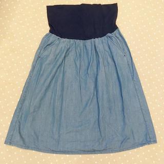 ムジルシリョウヒン(MUJI (無印良品))のマタニティスカート 無印良品(マタニティウェア)