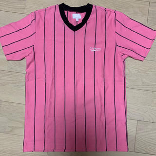 シュプリーム(Supreme)のsupreme  stripe shirt(Tシャツ/カットソー(半袖/袖なし))