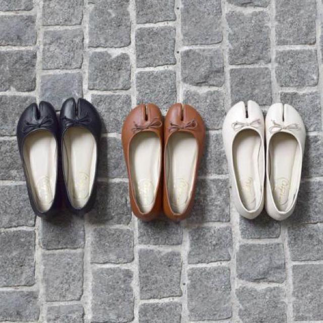 w closet(ダブルクローゼット)の★ 今季 足袋パンプス ★ レディースの靴/シューズ(バレエシューズ)の商品写真