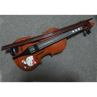 サンリオ(サンリオ)のキティちゃん おもちゃのバイオリン(楽器のおもちゃ)