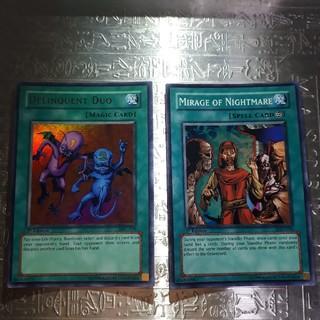 ユウギオウ(遊戯王)の遊戯王アジア版二枚セット(シングルカード)