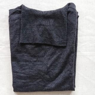 MUJI (無印良品) - 無印良品  半袖タートルネックセーター L