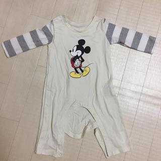Disney - ❥美品❥ミッキーロンパース 80