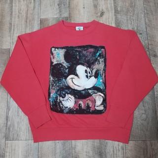 ディズニー(Disney)の90s USA製 ビンテージ ミッキースウェット チャンピオン(スウェット)
