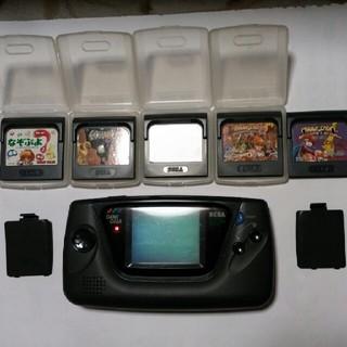 セガ(SEGA)のゲームギア ソフト5枚 ジャンク(携帯用ゲーム本体)