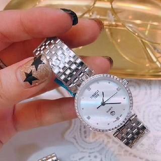 ティソ(TISSOT)のTISSOT自動巻き腕時計 レディース(腕時計)