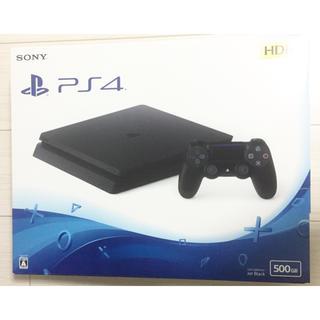 PlayStation4 - 新品 保証 PS4 本体 ジェットブラック 500GB CUH-2200AB01