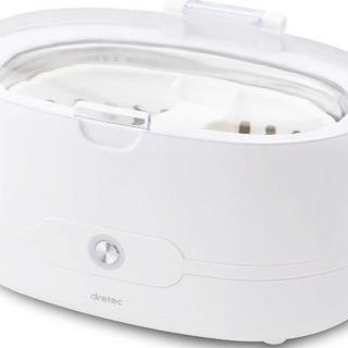 【新品】超音波洗浄機 メガネ 時計 貴金属 入れ歯 シェーバー(その他)