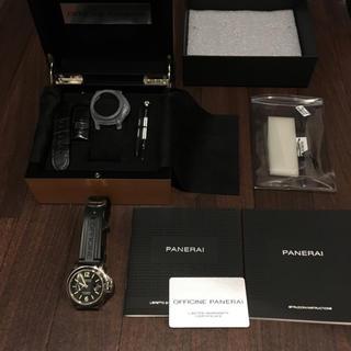 オフィチーネパネライ(OFFICINE PANERAI)のパネライ ルミノールマリーナ S番 PAM00104(腕時計(アナログ))