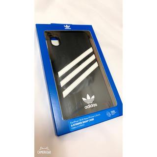 アディダス(adidas)のadidasケース 【iPhone XS Max】(iPhoneケース)