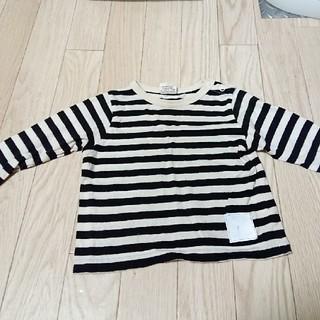 エフオーキッズ(F.O.KIDS)のF.O.KIDS♡ボーダーTシャツ 80(Tシャツ)