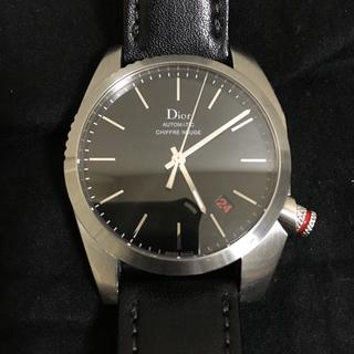 ディオールオム(DIOR HOMME)のdior homme  ディオール オム シフルルージュ 時計 a03 黒文字盤(腕時計(アナログ))
