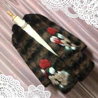 ザラ(ZARA)の秋冬先取り♡ZARA ファーコート コート 結婚式 パーティー お呼ばれ(毛皮/ファーコート)