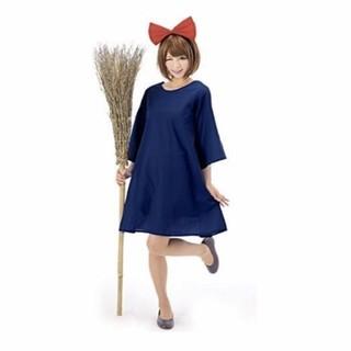 【送料無料】魔女っ娘 コスプレ ハロウィン仮装衣装 キキ (衣装一式)