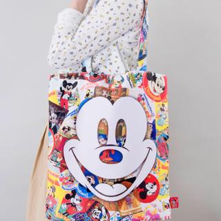 Disney - ミッキー 90周年 トートバッグ  ・  ミッキー トートバッグ