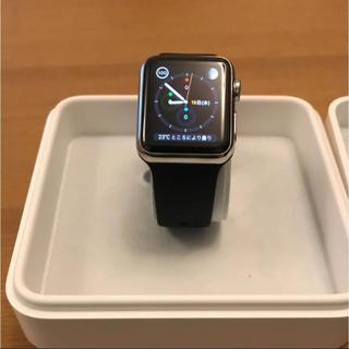 アップルウォッチ(Apple Watch)のapple watch 38mm 初期型 ステンレススティール(腕時計(デジタル))