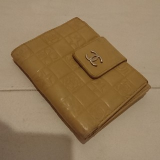 シャネル(CHANEL)のCHANELシャネル二つ折り財布アイコン(財布)