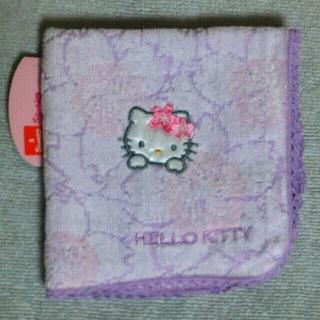 ハローキティ(ハローキティ)の【SANRIO/HELLO KITTY】ハンドタオル(ハンカチ)