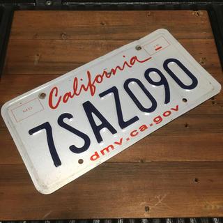 アメリカ カリフォルニア ナンバープレート ロスアンゼルス 090