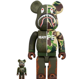 A BATHING APE - レシート原本 BE@RBRICK READYMADExA BATHING APE