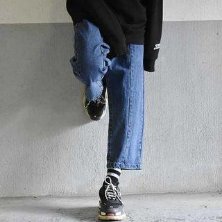 Ssize REWORK WIDE JEAN PANTS Blue(デニム/ジーンズ)