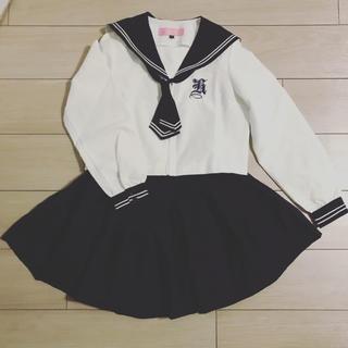 ハロウィン♪ コスプレ♪ 長袖セーラー服
