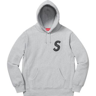 シュプリーム(Supreme)の【M】Supreme S Logo Hooded Sweatshirt 黒(パーカー)