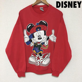 ディズニー(Disney)の3733 DISNEY ディズニー 90s ミッキー スウェット トレーナー(スウェット)