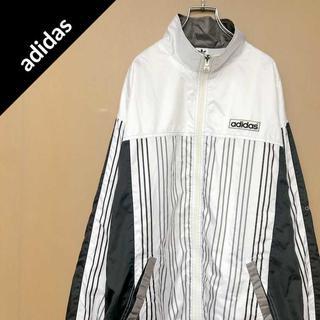 アディダス(adidas)のアディダス 【90s】 ワンポイントロゴ ジャケット パーカー スウェット(ナイロンジャケット)
