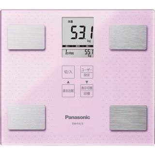 ☆ 新品 ☆パナソニック 体重計 体組成計 体脂肪計(体重計/体脂肪計)