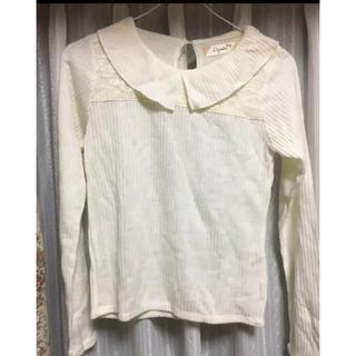 シマムラ(しまむら)の襟元がかわいい ニット生地トップス(ニット/セーター)