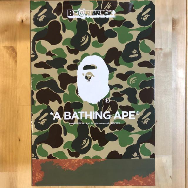 A BATHING APE(アベイシングエイプ)の専用  BE@RBRICK READYMADE x A BATHING APE® エンタメ/ホビーのフィギュア(その他)の商品写真