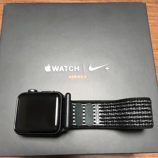 アップルウォッチ(Apple Watch)のアップルウォッチ NIKE series3 セルラー(腕時計(デジタル))