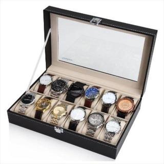 【再々入荷】 腕時計ケース 12本専用 コレクション  ¥2,190